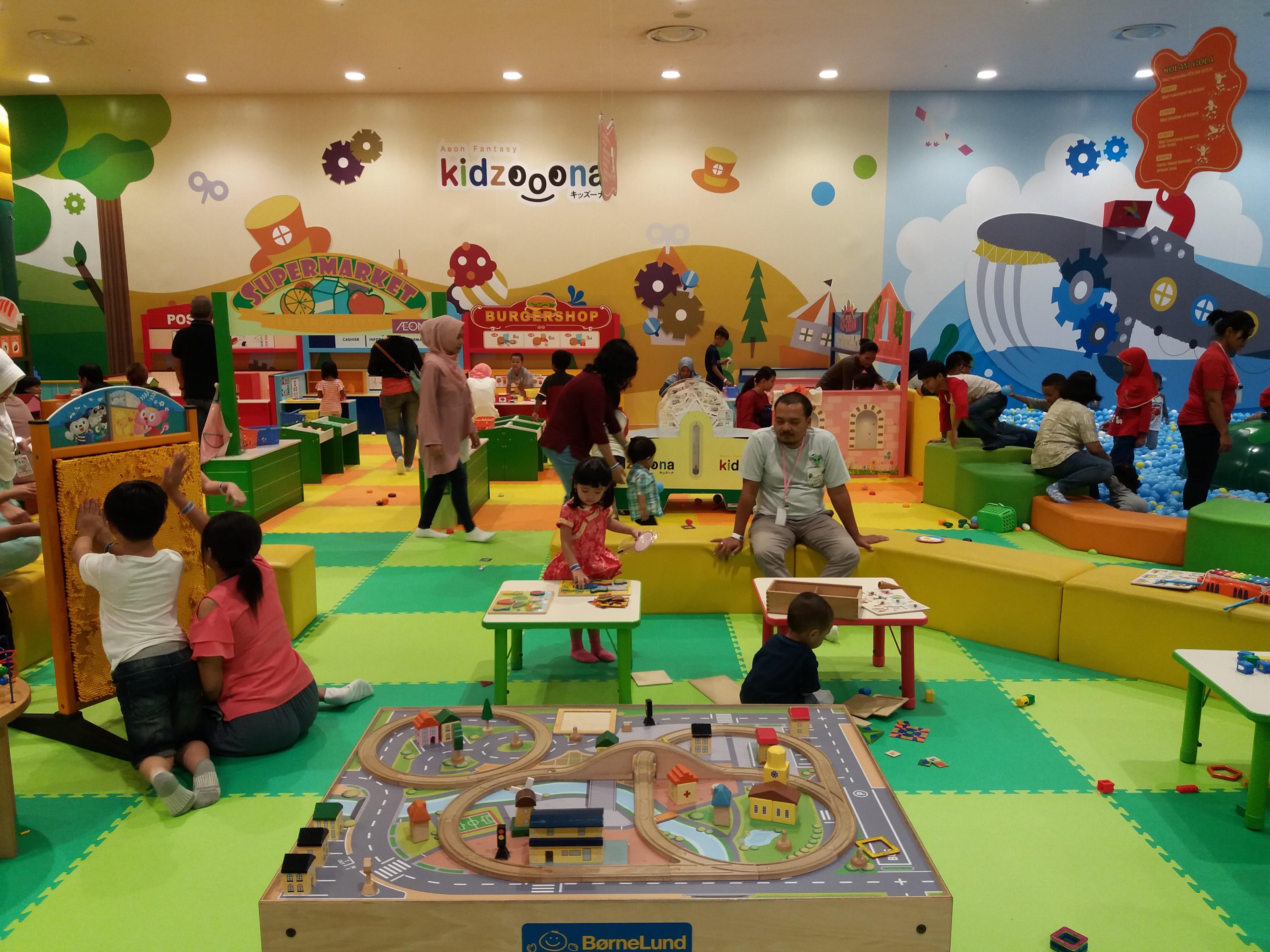 イオンモール(BSD AEON MALL)子供の遊び場などご紹介。