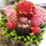 Sudirman 日曜のCar free dayでお花を購入