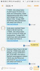 インドネシアのインターネット回線について、Wi-Fi事情、スマホのパケ放題の仕方