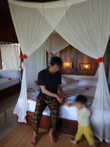 マナド ブナケン島のホテル Chachaに宿泊