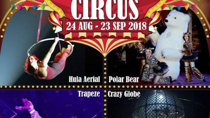 Great British Circus 8/24-9/23まで。